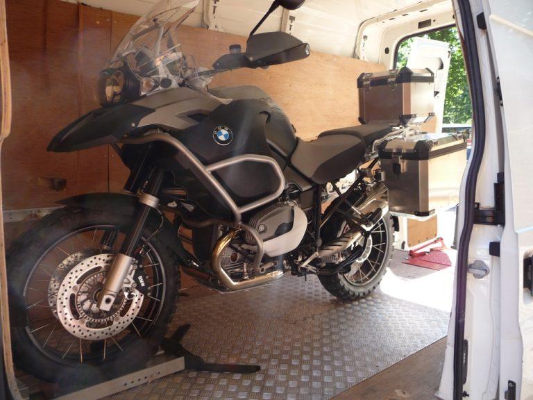 BMW Gs Motorcycle Transportation London
