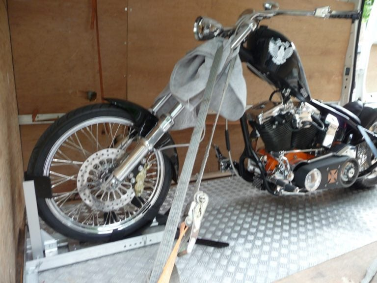 Custom Motorcycle Transportation London
