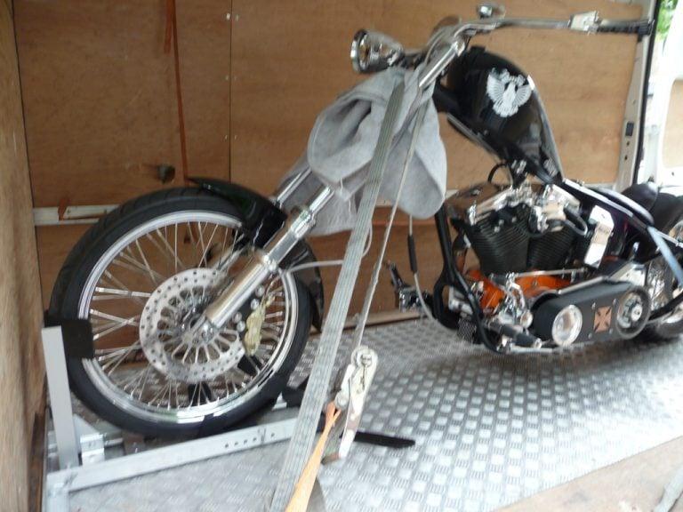 Custom Motorcycle Transportation London