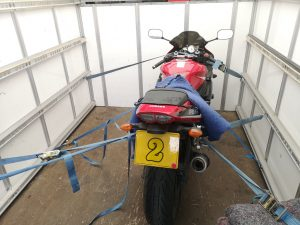 Motorcycle Transport from A to B